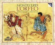 Monteverdi: L'Orfeo / Gardiner, Rolfe-Johnson, Baird, Von Otter - CD