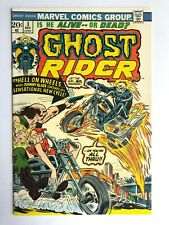 Ghost Rider #3 (Dec '73) 3rd App Son Of Satan! 1st Hellfire Motorcycle! FN-