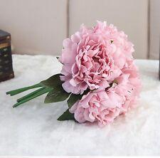 Blumenstrauß Pfingstrose Sträuße Kunstblumen Künstliche Seidenblumen Blumenstrau