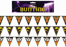 Halloween Flag Bunting - Decoration Banner Pennant Party Bat Pumpkin