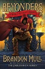 """BRANDON MULL """"Beyonders: A World Without Heroes"""" BRAND NEW Hardcover 1st edition"""