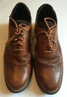 Cole Haan Men's Size 14W 2.ZERØGRAND Laser Wingtip Oxford British Tan-java