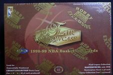 1998/99 FLAIR SHOWCASE NBA BASKETBALL FLEER SKYBOX HOBBY BOX NEW