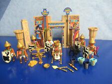 4243 TEMPEL des PHARAO viele Figuren Panther Zbh zu 4240 Pyramide Playmobil 9775