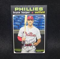 SP! 🚨Bryce Harper 2020 Topps Heritage High Number #447 Philadelphia Phillies