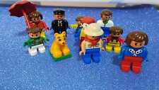 LOTE MUÑECOS LEGO DUPLO - SE VENDE TAL COMO PUEDES VER EN LA FOTO