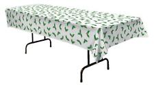 CHRISTMAS GREEN HOLLY TABLE COVER DECORATION BG20433