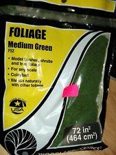 Woodland Scenics Foliage F52 Medium Green
