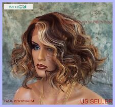 LACE FRONT LACE C PART CURLY CLR P4.27.613 DARLING SEXY HOT STYLE USA SELL 1151