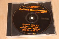 PROMO CD VARIOUS In Tha Beginning There Was Rap Sampler Wu Tang Puffy Too Short