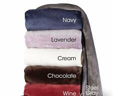 Hammacher Best Heated Electric Blanket Heat King Navy Color