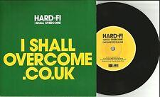HARD FI I shall overcome w/ ACOUSTIC &RADIO EDIT UK 7 INCH vinyl 2008 USA Seller