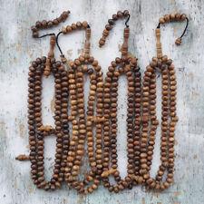 Morocco Style 12 MM Agarwood Islamic Tasbih 100 Beads Indonesian Gaharu Buaya