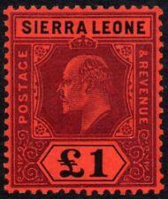 Sierra Leone 1911 £1 King Edward VII, MH (SG 111)