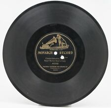 1904 Victor Monarch Record 4055 CARMEN SELECTION Royal Marine Band 78 RPM