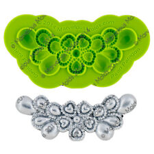 Pearl Paragon Silicone Fondant Mold by Marvelous Molds
