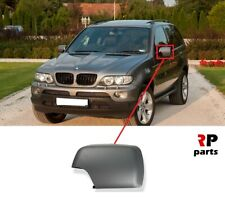 FOR BMW X5 SERIES E53 1999 - 2006 NEW WING MIRROR COVER CAP PRIMED LEFT N/S