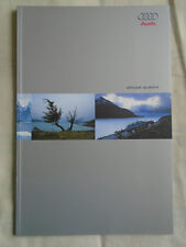 Audi Allroad Quattro brochure Sep 2000 Swiss market French text