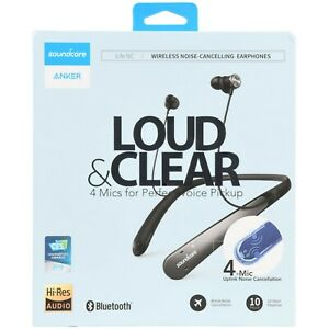 Anker Soundcore Life NC Loud & Clear Wireless Noise-Cancelling Earphones - New