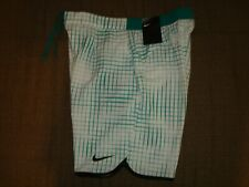 "NWT Nike Court Gladiator Printed 9"" Tennis Shorts 816056-351 Federer Nadal NEW M"