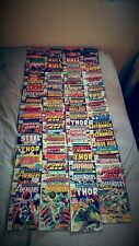 Over 70 comics from Marvel and DC..from Avengers to Kull, Thor to the Defender's