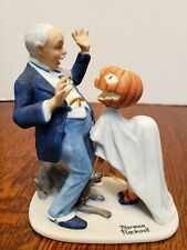 "12 Norman Rockwell Figurines ""Trick Or Treat"" 1980 Danbury Mint Sep Japan"