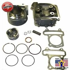 80cc Big Bore Kit 64mm Cylinder Head Piston Rings Set Scooter 50cc 60cc GY6