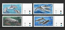 Ascension 2009 Whales and Dolphins SG1029-1032  MNH