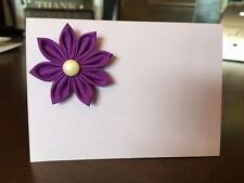50 Handmade Blank Tented Table Place Cards/Wedding Place Cards/Escort cards