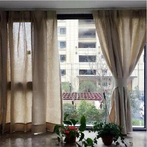 Beige Half Curtains Living Room Bedroom Short Curtain Kitchen Door Window Drapes