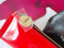 YSL❤Yves Saint Laurent ❤Lack Clutch❤Pouch Kosmetiktasche Tasche Bag  ❤Rot