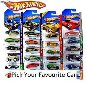 Hot Wheels Vehicle Series Collectable Die Cast Cars Pick Your Vehicle (NEW)