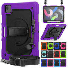 """For iPad 9.7"""" 5th Gen 2017/6th Gen 2018 Tablet Hybrid Rugged Rubber Stand Case"""