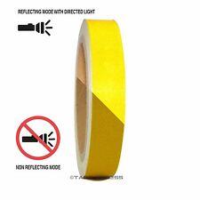 "1 Roll Yellow 3/4"" x 30 feet Reflective Engineering Grade Tape Pinstripe"