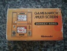 DONKEY KONG Nintendo Game e WATCH MULTI SCREEN DK-52 AMAZING CONDITION