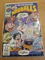 MADBALLS VOLUME 1 # 1-2-3-STAR COMICS MARVEL  1986