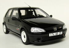 Otto 1/18 Scale - Peugeot 106 Rallye Phase 2 Black Resin Model Car