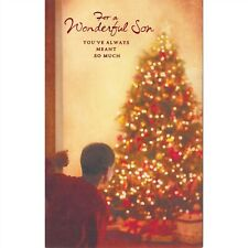 American Greetings Christmas Card: For a Wonderful Son...You Are Loved So Much
