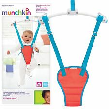 Munchkin Bounce About Baby Toddler Adjustable Padded Door Bouncer Play Seat NEW