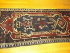 3x6 Tribal Baluchistan Rug With Blue Field and Fine Weave