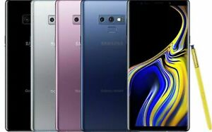 Samsung Galaxy Note 9 N960U 64GB Factory Unlocked 4G LTE Smartphone Black Blue