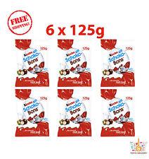 6 x Ferrero Kinder Schoko Bons Chocolate Balls Free Shipping 125g 4.4oz