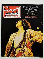 RARE CIAO 2001 12-1976 +POSTER PINK FOLYD-ROLLING STONES-KISS-BADEN POWELL