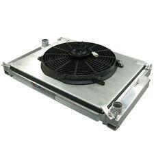 CXRacing Aluminum Radiator + Fan SHROUD For 92-99 BMW E36 325 328 M3
