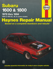 New Haynes Owners Service Repair Workshop Manual Book Subaru 1600 1800 1979-1994
