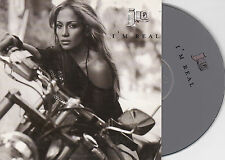 CD CARTONNE CARDSLEEVE 2T JENNIFER LOPEZ I'M REAL DE 2001