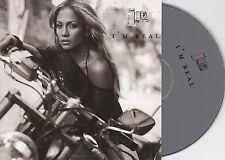 CD CARTONNE CARDSLEEVE 2T JENNIFER LOPEZ I'M REAL DE 2001