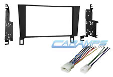 1990-1994 LEXUS LS400 DOUBLE 2 DIN CAR STEREO RADIO INSTALL KIT W WIRE HARNESS