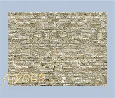 * Vollmer scala N 47367 cartoncino per muri in pietra marrone chiaro Nuovo