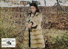 ANOUK AIMEE  UN SOIR... UN TRAIN 1968 VINTAGE PHOTO LOBBY CARD N°3